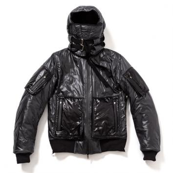 【TheSoloist-ソロイスト】flight jacket type I 【BLACK】