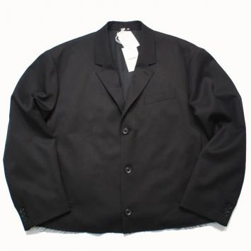 【doublet/ダブレット】CUT OFF OVER-SIZED JACKET【BLACK】