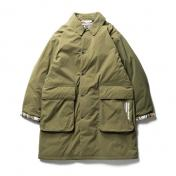 【TBPR 15TH Collection】(TIGHTBOOTH/NEIGHBORHOOD)ISLEY PUFFY C-COAT【OLIVE】